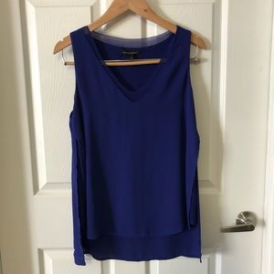 Banana Republic flowy tank blouse, royal blue, S